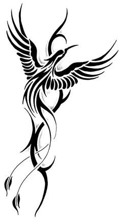 236x433 Latest Phoenix Tattoos Designs