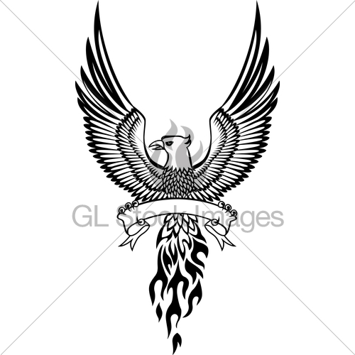 500x500 Phoenix Bird Tattoos And Designs