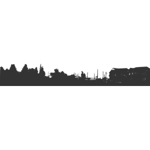 300x300 Skyline clipart city horizon