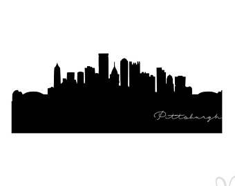 340x270 Skyline Silhouette Etsy