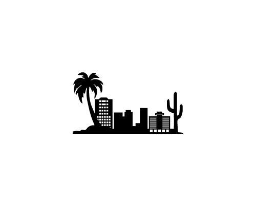 500x400 Portfolio Phoenix Arizona Skyline For Strideline Crew Socks