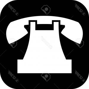 300x300 Photostock Vector Phone Flat Icon Single High Quality Symbol