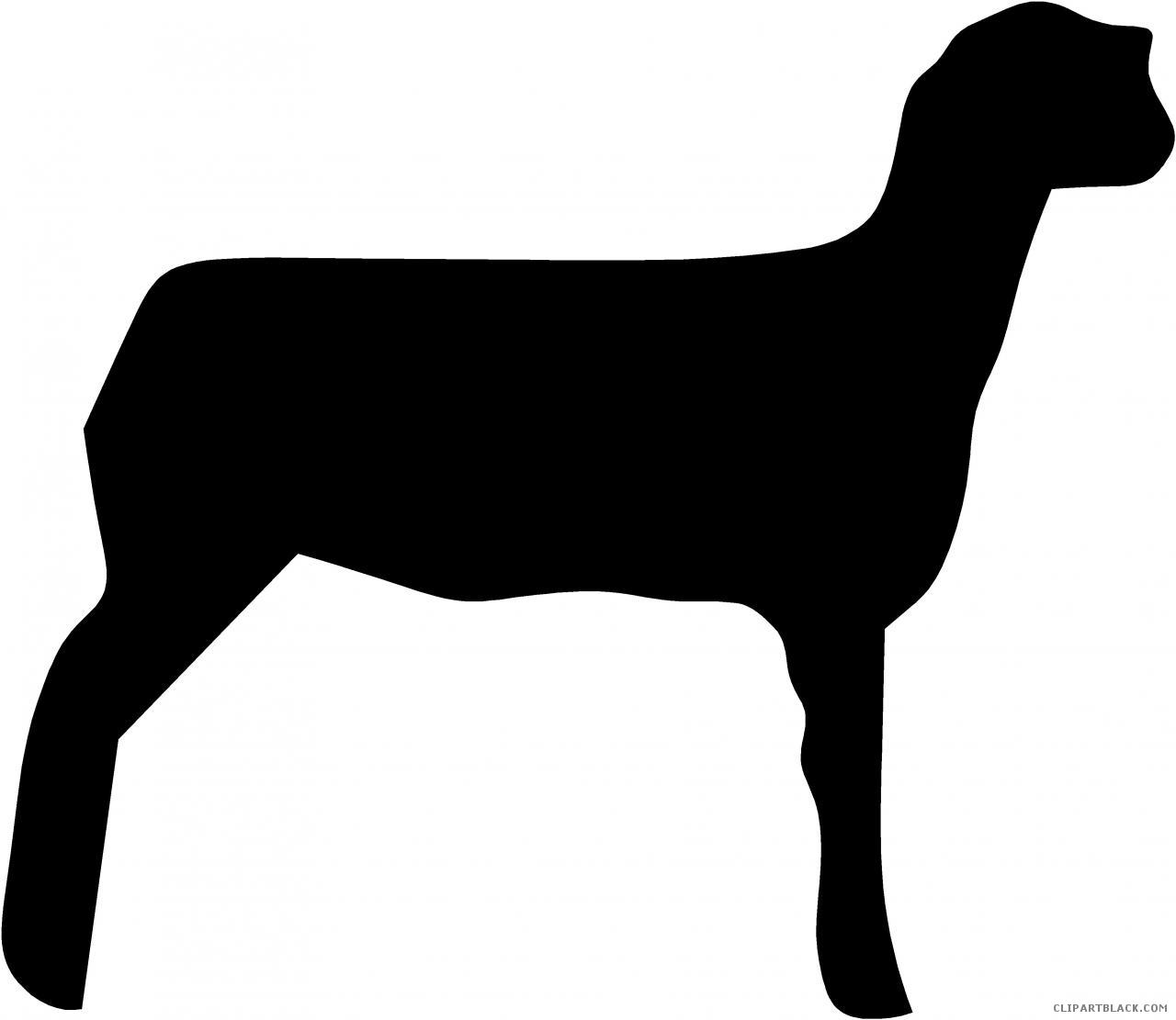 1280x1111 Sheep Silhouette Clipart