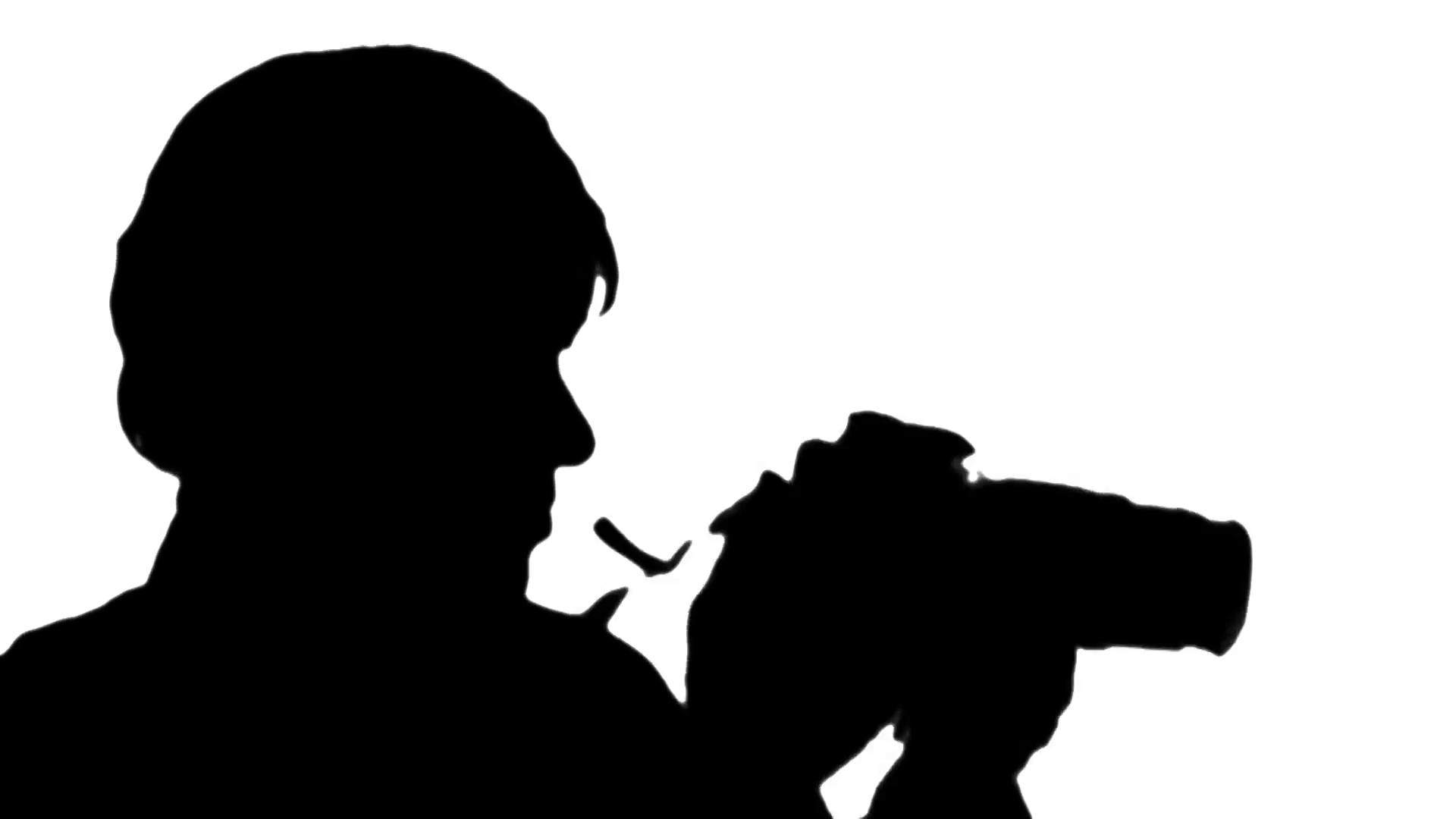 1920x1080 Photographer Silhouette