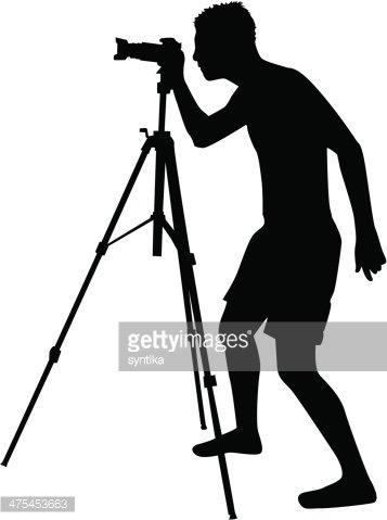 357x479 Photographers Stock Vectors