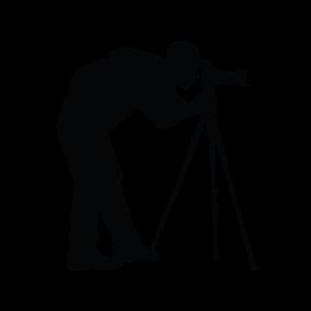 283x283 Photographer Silhouette Image 2.png Cricut Cut Files