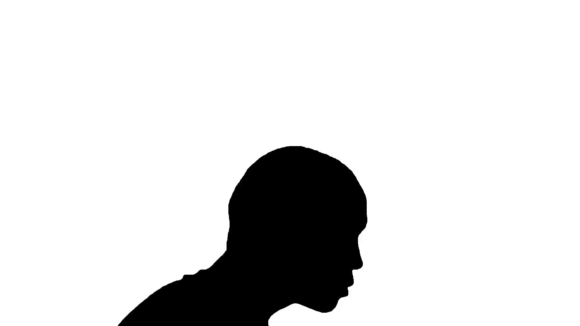 1920x1080 Black On White Silhouette Of A Photographer With High Speed