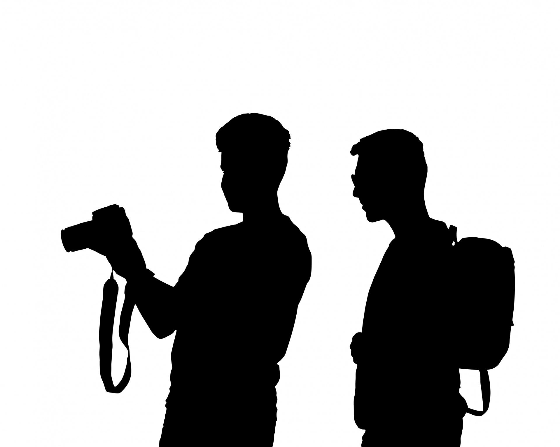 1920x1535 Photographer Silhouette Free Stock Photo