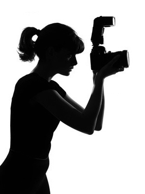 299x400 Photographer Silhouette Panther Burns