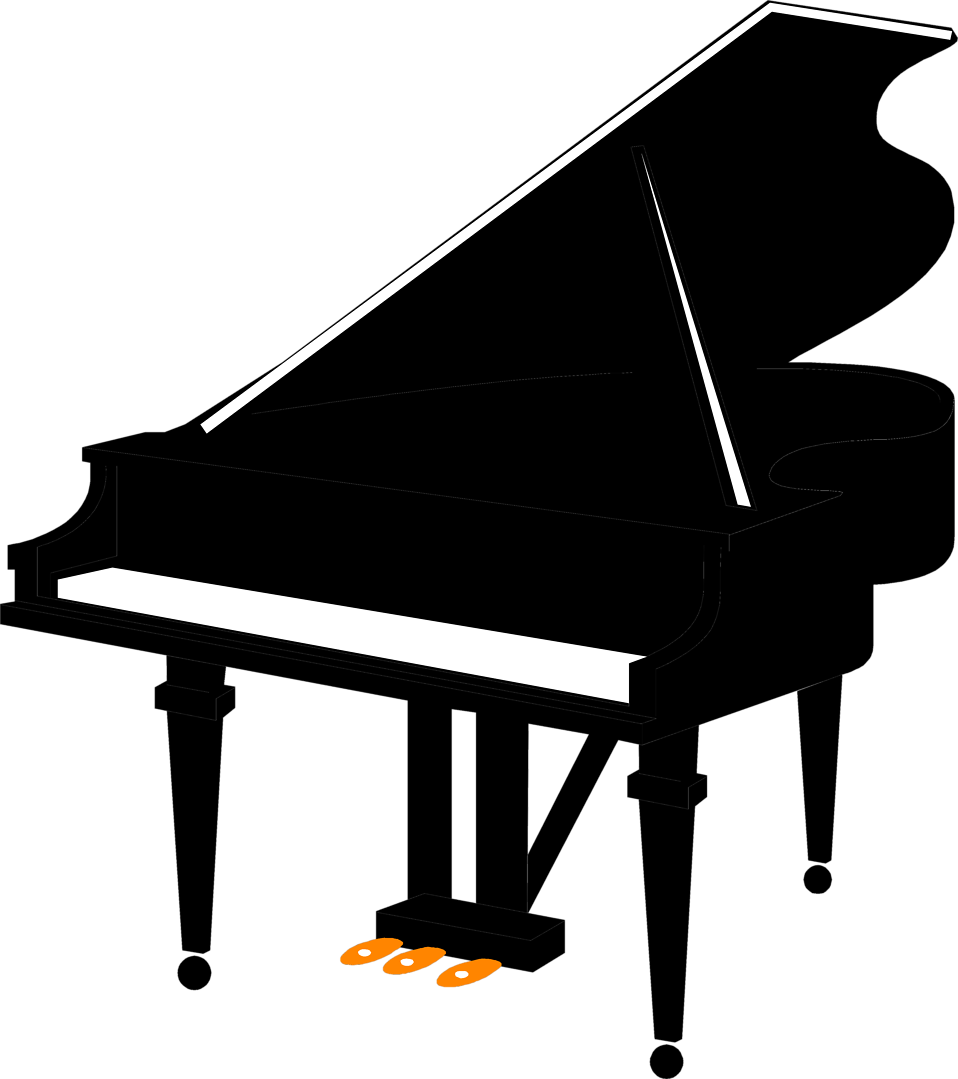 piano silhouette at getdrawings com free for personal use piano rh getdrawings com clipart piano keyboard clip art piano music