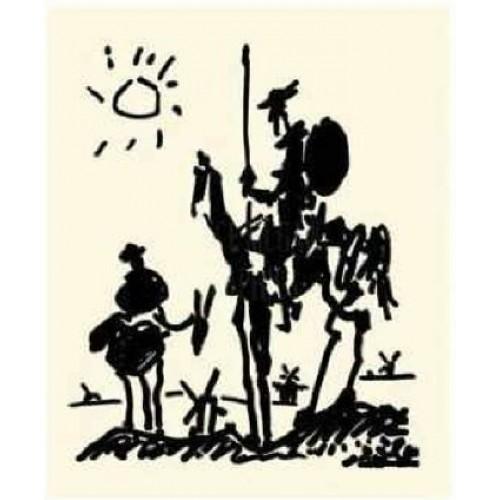 500x500 Quixote, 1955, Picasso Pablo Ruiz, Oil On Canvas, Fine Art Re