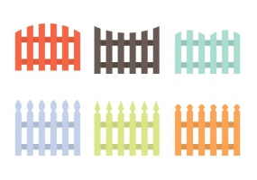 285x200 Picket Fence Silhouette Free Vector Graphic Art Free Download