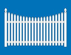 235x182 Clipart Silhouette Of Picket Fence 23.png Relief