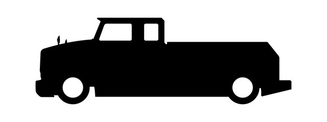 640x240 Search Photos Truck Silhouette