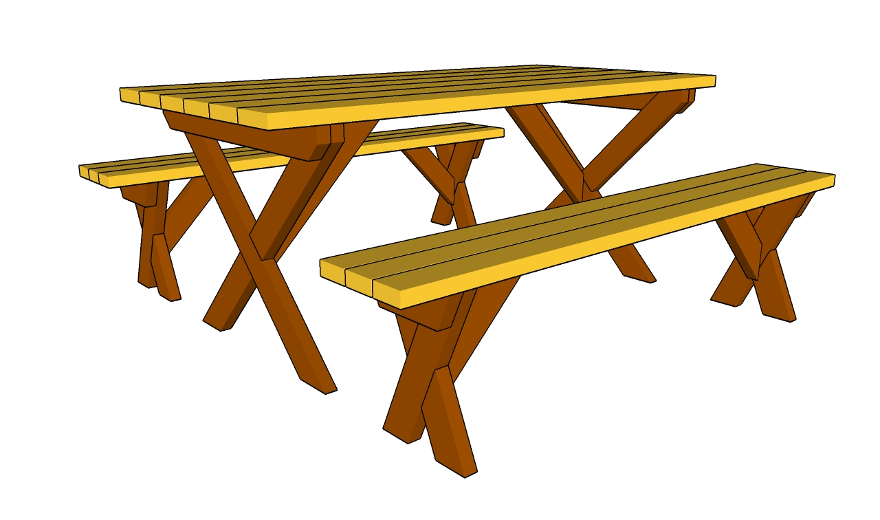 1280x756 Picnic Table Clipart 8