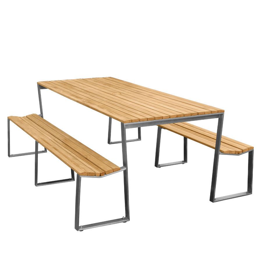 900x900 Teak Outdoor Tables Bond Picnic Table Country Casual Teak