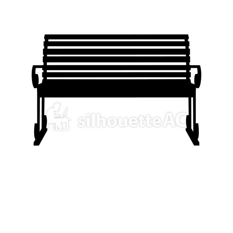 750x750 Free Silhouette Vector Chair, Bento, To Relax