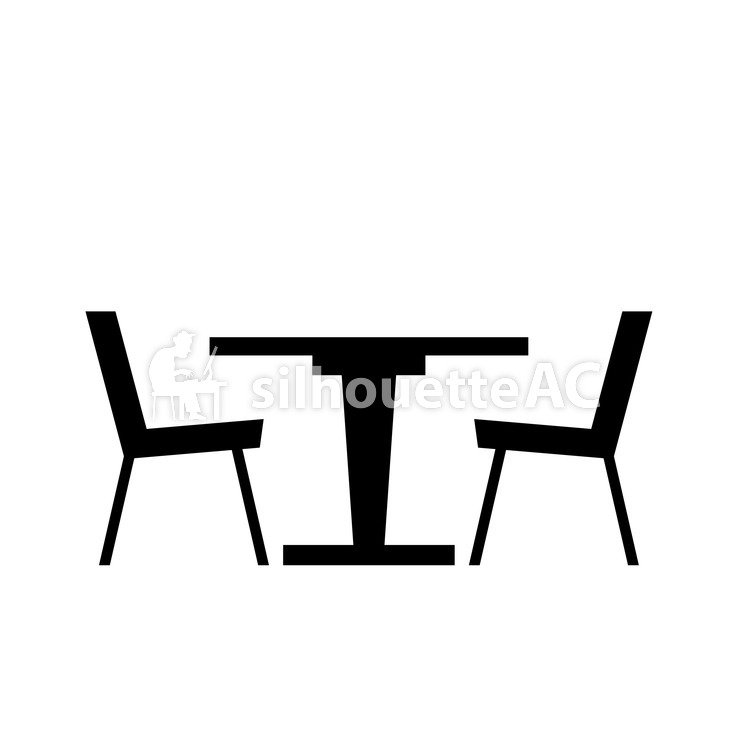 750x750 Free Silhouette Vector Chair, An Illustration