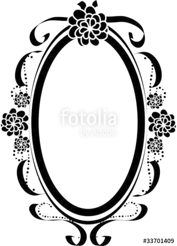 360x500 Oval Frame Silhouette Stock Image And Royalty Free Vector Files