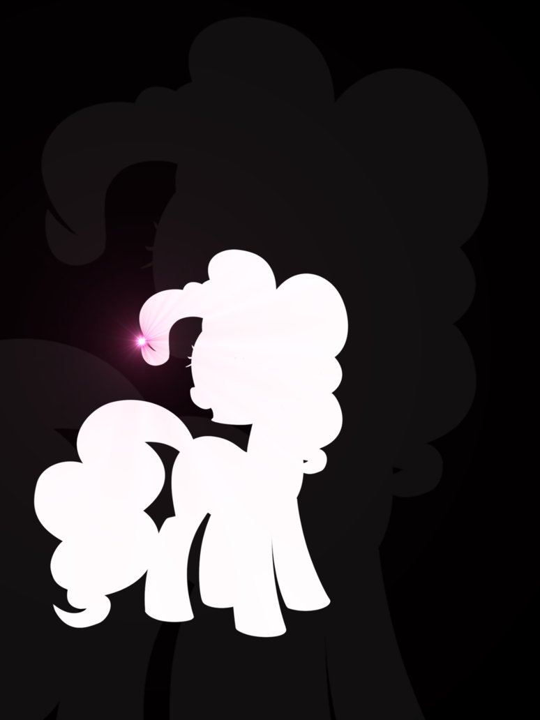 774x1032 Pinkie Pie Silhouette By Flamevulture17