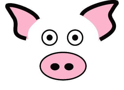 400x289 Pig Face Cliparts