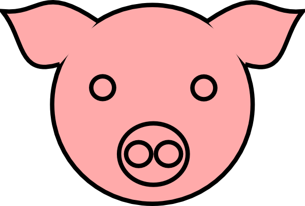 600x404 Pig Face Drawing Tabooh
