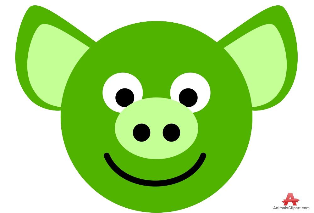 999x677 Pig Face Silhouette