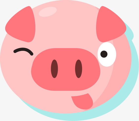 563x488 Pigs Like Silhouette, Tongue, Pink Pig, Lovely Png Image