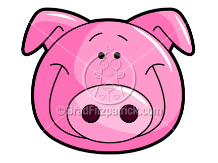 432x324 Pork Clipart Hog Head
