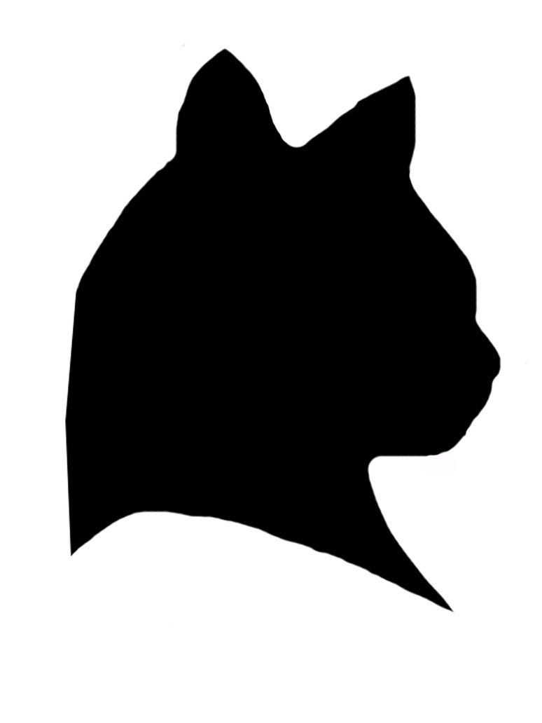 774x1032 Silhouette Clock Cat Silhouette By Seiyastock Clocks