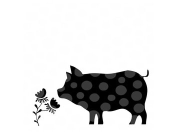 340x270 Cute Pig Svg Etsy