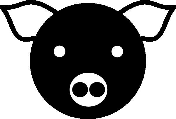 Pig Silhouette Clip Art