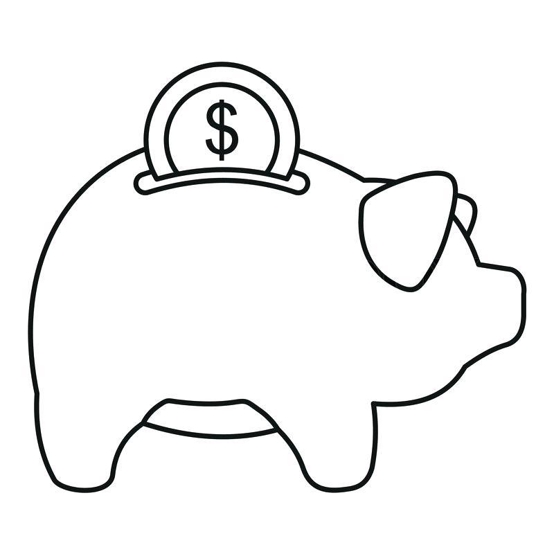 800x800 Pig Outline Png Pig In Mud Cartoon Free Download Best Pig In Mud