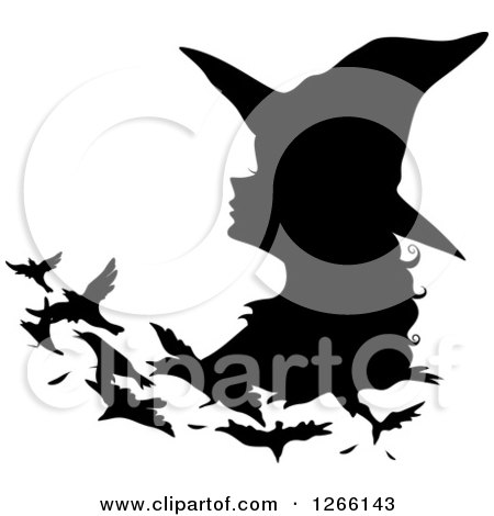 450x470 Clipart Halloween Devil Pinup Woman In Black With A Pitchfork