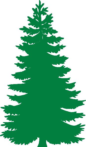 348x598 Pine Trees Silhouette Clipart Panda