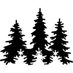 236x236 Pine Tree Silhouette Drawings Rc81 Pine Trees Silhouette Designs