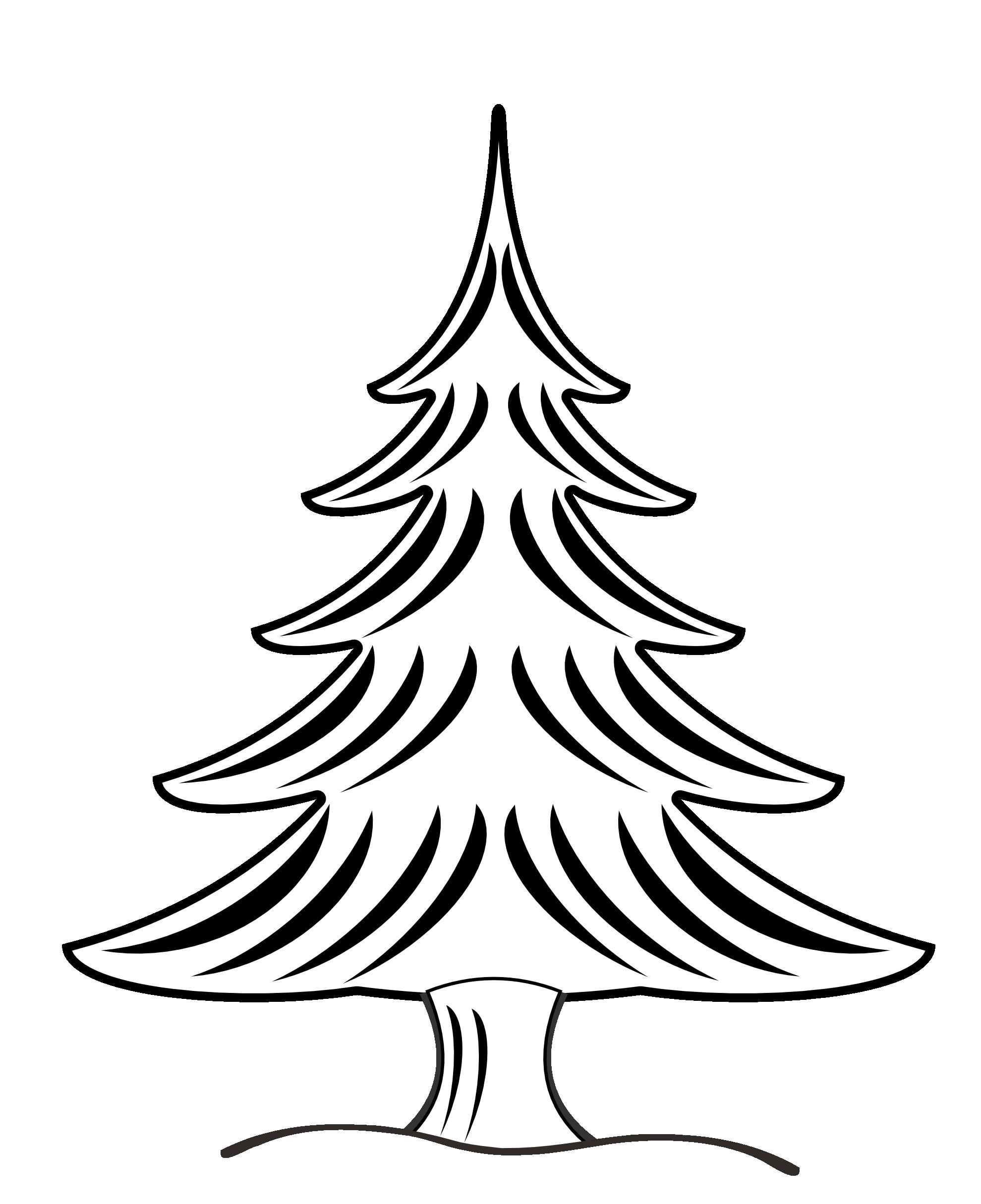 1979x2430 Pine Tree Silhouette Clipart 2