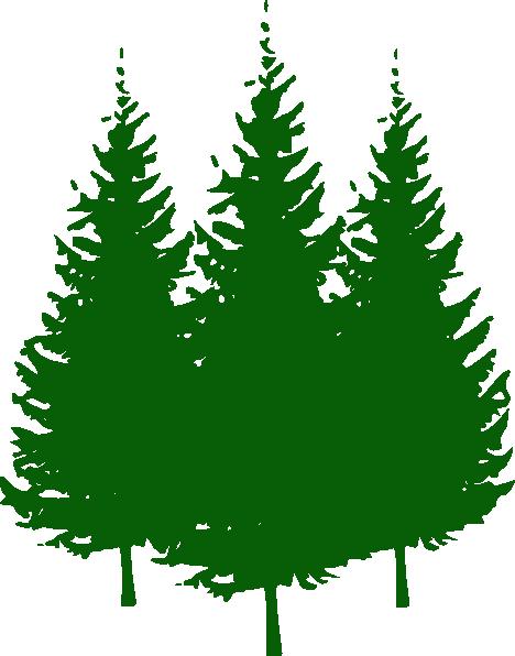 468x596 Pine Tree Tree Silhouette And Clip Art