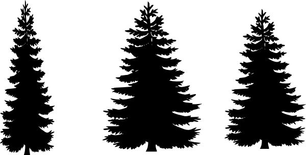 pine tree silhouette images at getdrawings com free for personal rh getdrawings com free vector clipart pine trees pine trees vector png