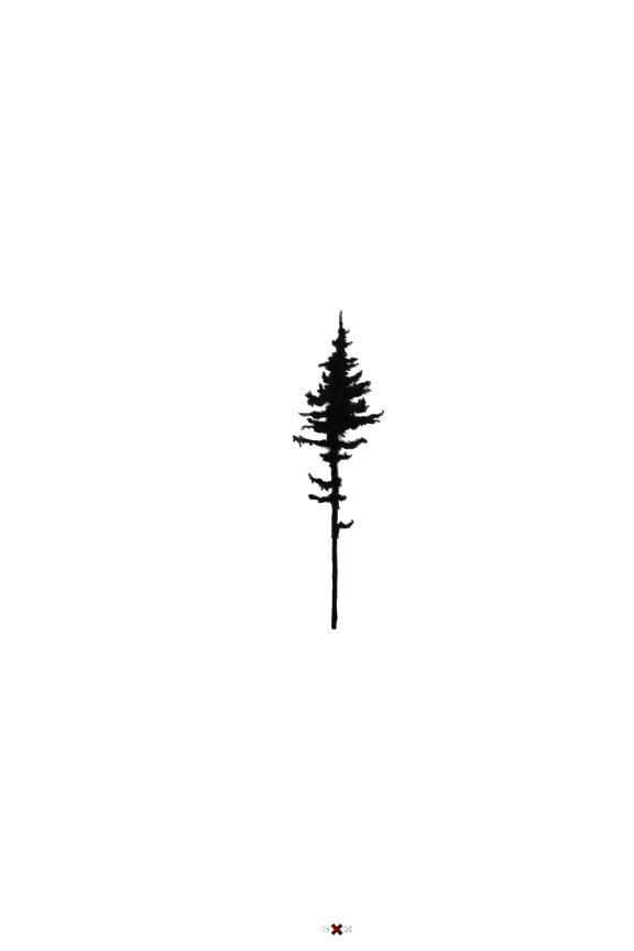 576x864 Minimalist Pine Tree Simple Pine Tree Tattoo Ring Minimalist Pine