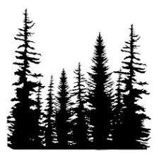 225x225 Resultado De Imagen De Pine Tree Forest Silhouette Tatoo