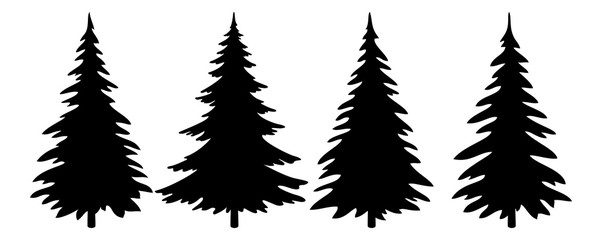 pine tree vector silhouette at getdrawings com free for personal rh getdrawings com vector pine tree silhouette vector pine tree silhouette