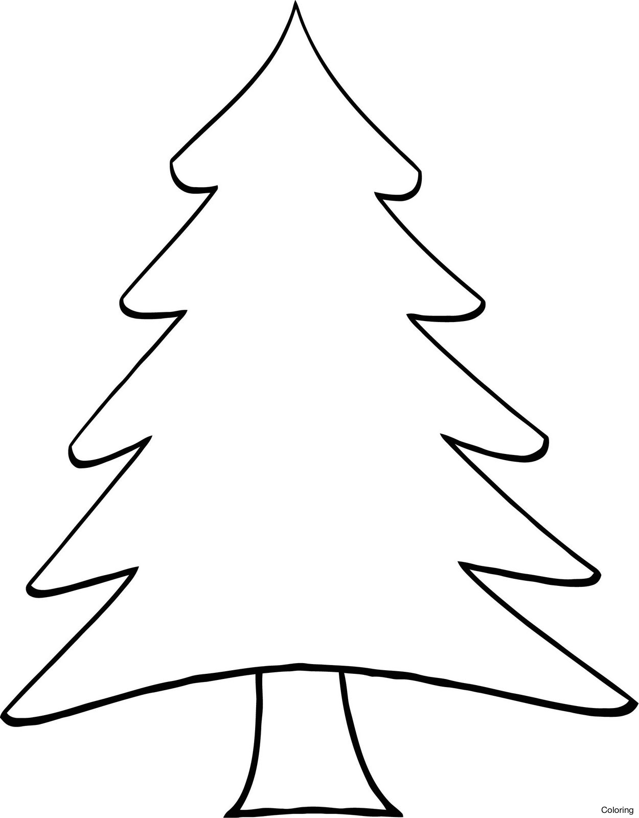 Pine Tree Vector Silhouette At Getdrawingscom Free For Personal