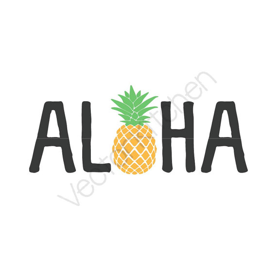 570x570 Aloha Pineapple Silhouette How To Format Cover Letter