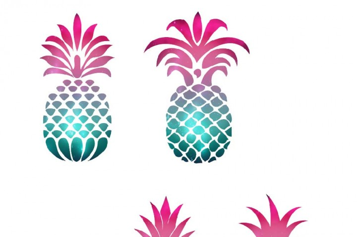 720x479 Pineapple Silhouette Clipart By Fantasy Cliparts