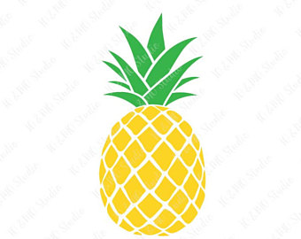 pineapple silhouette clipart at getdrawings com free for personal rh getdrawings com pineapple clip art free pineapple clip art monogram free