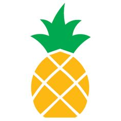 236x236 Outline Black And White Image Of A Pineapple Royalty Free Cliparts