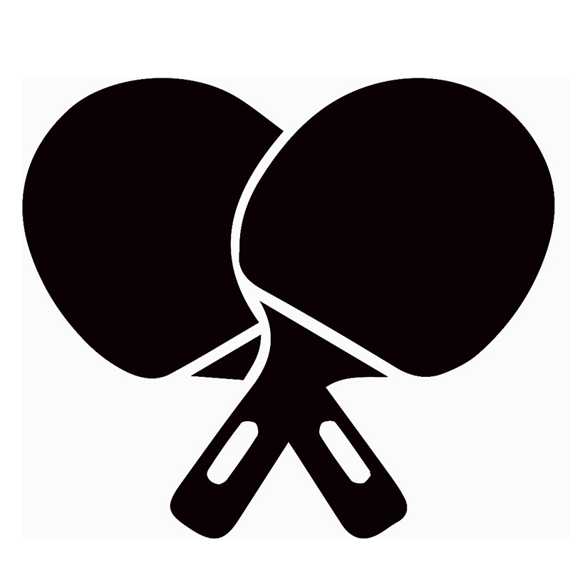Ping Pong Silhouette
