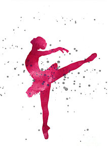 213x300 Ballerina Silhouette Paintings