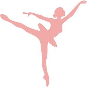 300x300 Silhouette Design Store Ballerina Silhouette